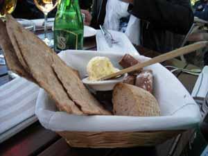På Bockholmens restaurang